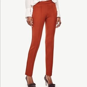 Ann Taylor Pintucked Ankle Pants southwest clay size 0
